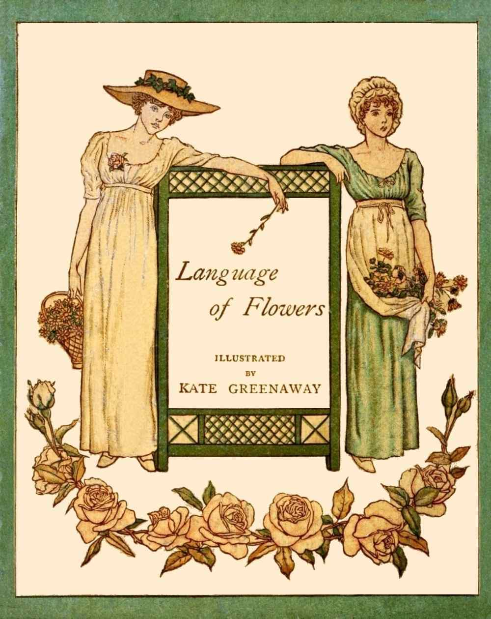 Greenaway Language of flowers