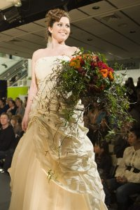 brudebukett, stor vegetativ