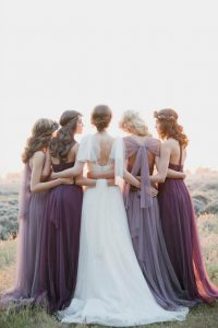 lavender-plum-tulle-bridesmaid-dresses