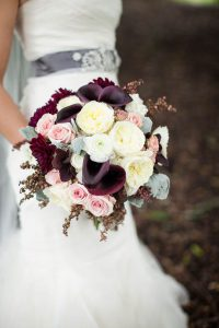 plum-lily-fall-wedding-bouquet